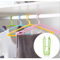Wholesale Portable Travel  Foldable clothes hanger from china suppliers