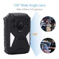 Wholesale 1296P HD 150 Degree Wide Angle Recording Wearable Video Body Worn Camera Bulit In GPS from china suppliers
