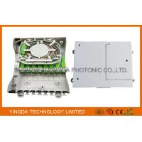 Wholesale Fiber Optic Termination Box With Splitter 1X8 PLC And 8 Coupler SC/APC Auto Shutter Type from china suppliers