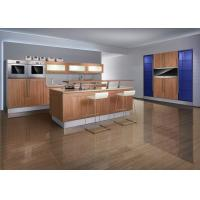 Wholesale Classic Design Thermofoil Kitchen Cabinets , Villa Free Standing Kitchen Cabinets from china suppliers