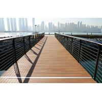 Wholesale Anti-UV Durable WPC Decking Flooring Waterproof Brown for Walk Road from china suppliers
