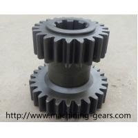 Wholesale Machinery Parts Double Gears Transmission Metal Spur Gear 0.03mm Tolerance from china suppliers