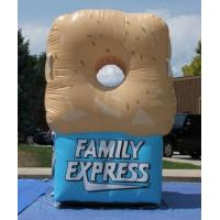 Wholesale Gaint Inflatable Bottles / Family Express Donut Inflatable Football Toss from china suppliers