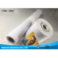Wholesale 24 44inch Large Format Premium RC Coated Glossy Inkjet Print Photo Paper from china suppliers