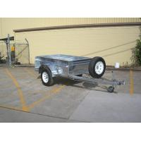Wholesale Safety Galvanised Off Road Trailer 7x5 Box Trailer Independent Suspension from china suppliers