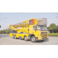 Wholesale VOLVO Chassis Bridge Inspection Truck / Bridge Inspection Equipment 8x4 Drive Type from china suppliers