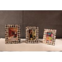 Wholesale Customized Picture Frames , Plywood Frame with Shell Decoration from china suppliers