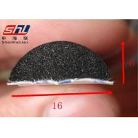 Wholesale semi round Foam Rubber Seals EPDM Anti - Dust Anti - Corrosion With 40 Shore A from china suppliers