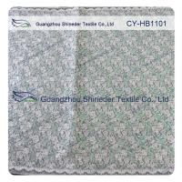Wholesale Green Double Color Matalic Embroidered Lace Fabric / Dressmaking Fabric from china suppliers