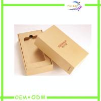 Wholesale New Design Mobile Phone packaging Box With EVA Insert , Hinge Box Type from china suppliers