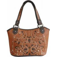 Wholesale Hot Sale New Design Western Genuine & Pu Leather, Boot Stitch Western Bag from china suppliers