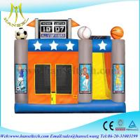Wholesale Hansel 2015 best sales inflatable bouncer,inflatable combo inflatable slide from china suppliers