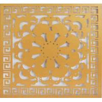 Wholesale Art Flower Aluminum Wall Panel CNC Carved Exterior PVDF Coating from china suppliers
