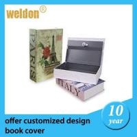 Wholesale Fashional Home Dictionary Diversion Metal Book Safe with Key Lock from china suppliers