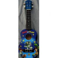 Wholesale Professional Cute 21 Inch Disney Land Hawaii Guitar Ukulele Nato Neck Guitar AGUL01 from china suppliers