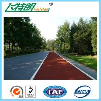 Wholesale Colorful EPDM Plastic Running Track Playground Safety Surfacing High Elasticity from china suppliers