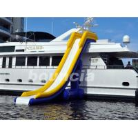 Wholesale 7.7m Long Inflatable Water Slide For Yacht , Yacht Inflatable Water Slide from china suppliers