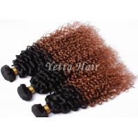 Wholesale Professional Light Brown Ombre Remy Hair Weave No Tang No Mixture from china suppliers