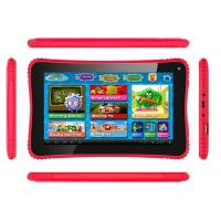 Wholesale Red Dual Camera 2D / 3D kids educational laptop 1024*600 LCD games app from china suppliers