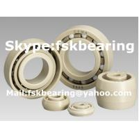 Buy cheap Ivory White 6900ZZ / 6900 Ceramic Ball Bearings 2RS PEEK Non Corrodible from wholesalers