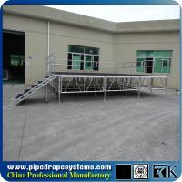 Buy cheap portable outdoor event stage,used portable staging from wholesalers