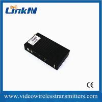 Wholesale 5km LOS transmission COFDM HD wireless transmitter with H.264 video compression from china suppliers