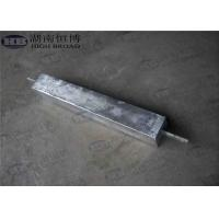 Quality High Potential AZ63C M1C Magnesium Anode With Standard Ribbon Steel Core for sale
