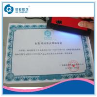 Wholesale Custom Certificate Printing With Embossing / Hot Stamping / Glossy Finishing from china suppliers