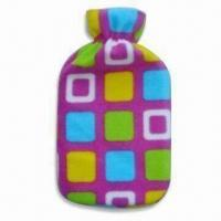 Wholesale Hot Water Bottle Cover in Various Shapes, Sizes and Colors, Made of Plush, OEM Orders are Welcome from china suppliers
