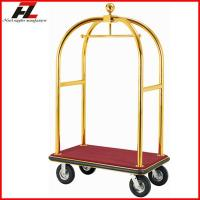 Quality Stainless Steel Hotel Luggage Cart/High Quality Bellman's Luggage Cart for sale