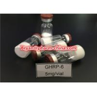 Wholesale 98% Purity Pharmaceutical Raw Materials Ghrp-6 Growth Hormone Polypeptide Lyophilized Raw Powder from china suppliers