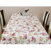 Wholesale Hard Wearing PVC Table Cloths Eco-Friendly Flower Printed For Hotel from china suppliers