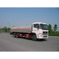 Quality Dongfeng 6x4 245HP 4,887 US Gallon Oil Tanker Truck 18500L , ISO9001 for sale