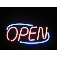 Wholesale High Brightness Pink / White Led Neon Light Open Sign With CE / UL from china suppliers