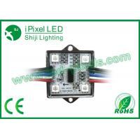 Wholesale Addressable 35mm Square 12v Ws2801 Digital RGB Pixel LED 5050  Modules  4 LED Pixel CE ROSH from china suppliers