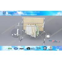 Wholesale Balcony Metal Indoor Outdoor Clothes Drying Rack for Garment / Quilts from china suppliers