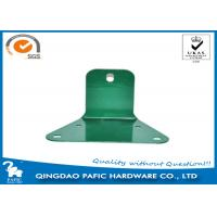 Buy cheap Swing Accessory Steel Reinforced Trapezoidal Plate / Metal Post Connectors from wholesalers