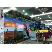 Quality Attractive Theme Park Equipment Luxury Mini Movie 5d Movie Theater With Children Games For Kids for sale