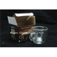 Quality espresso cups, double wall thermo glasses, blown glass coffee cup, tea cup for sale