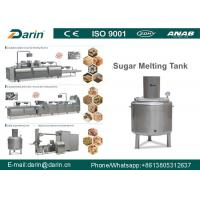 Buy cheap High Output Puffed Cereal Bar Making Machine , Multifunctional Rice Ball Sugar Production Line from wholesalers