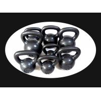 Wholesale 4kg  6kg 8kg 10kg 12kg 16kg 20kg 40kg painting cast iron powder  kettlebell from china suppliers