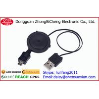 Wholesale Custom 36*13.5MM Retractable Micro USB Cable Micro 5 Pin to open cable 70CM from china suppliers