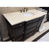 Wholesale 20 Inch Marble Vanity Tops With Convex Edge , Bathroom Marble Look Countertops from china suppliers