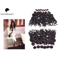 Wholesale Full Cuticle Intact Water Wave Grade 6A Virgin Peruvian Human Hair Weft from china suppliers
