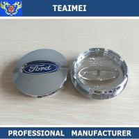 Wholesale OEM / ODM ABS Chrome Ford Logo Alloy Car Wheel Center Caps 55mm / 60mm from china suppliers