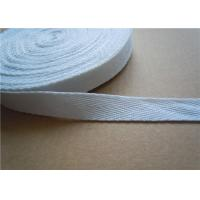 Wholesale 20mm White Non Elastic Tape Trim , Sewing Double Fold Bias Tape from china suppliers