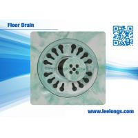 Wholesale Bathroom Sanitary Ware 6inch /  8inch Bathroom Floor Drain  Resin composite from china suppliers