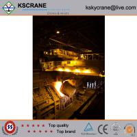 Wholesale Best Quality Steel Factory Double Girder Overhead Foundry Crane from china suppliers