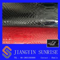 Wholesale Flame Retardant Crocodile Synthetic Pvc Leather For Lady Handbags from china suppliers