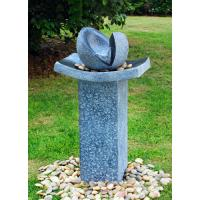 Wholesale Natural Split Cast Stone Water Fountains With  Fiberglass / Resin Material from china suppliers